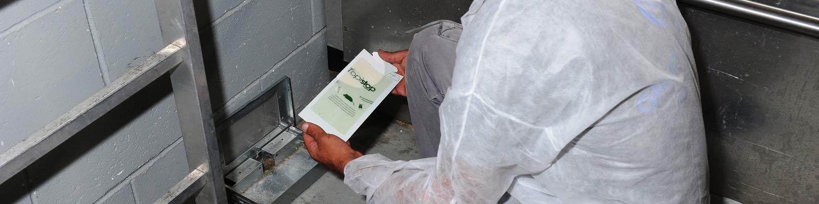 Monitoraggio disinfestazione insetti