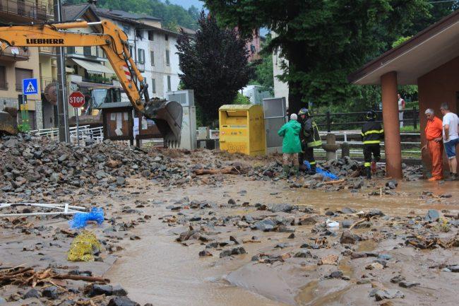 infestanti correlati ad alluvioni e allagamenti
