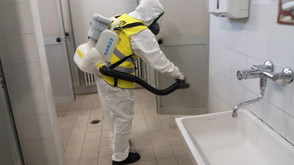 disinfezione straordinaria