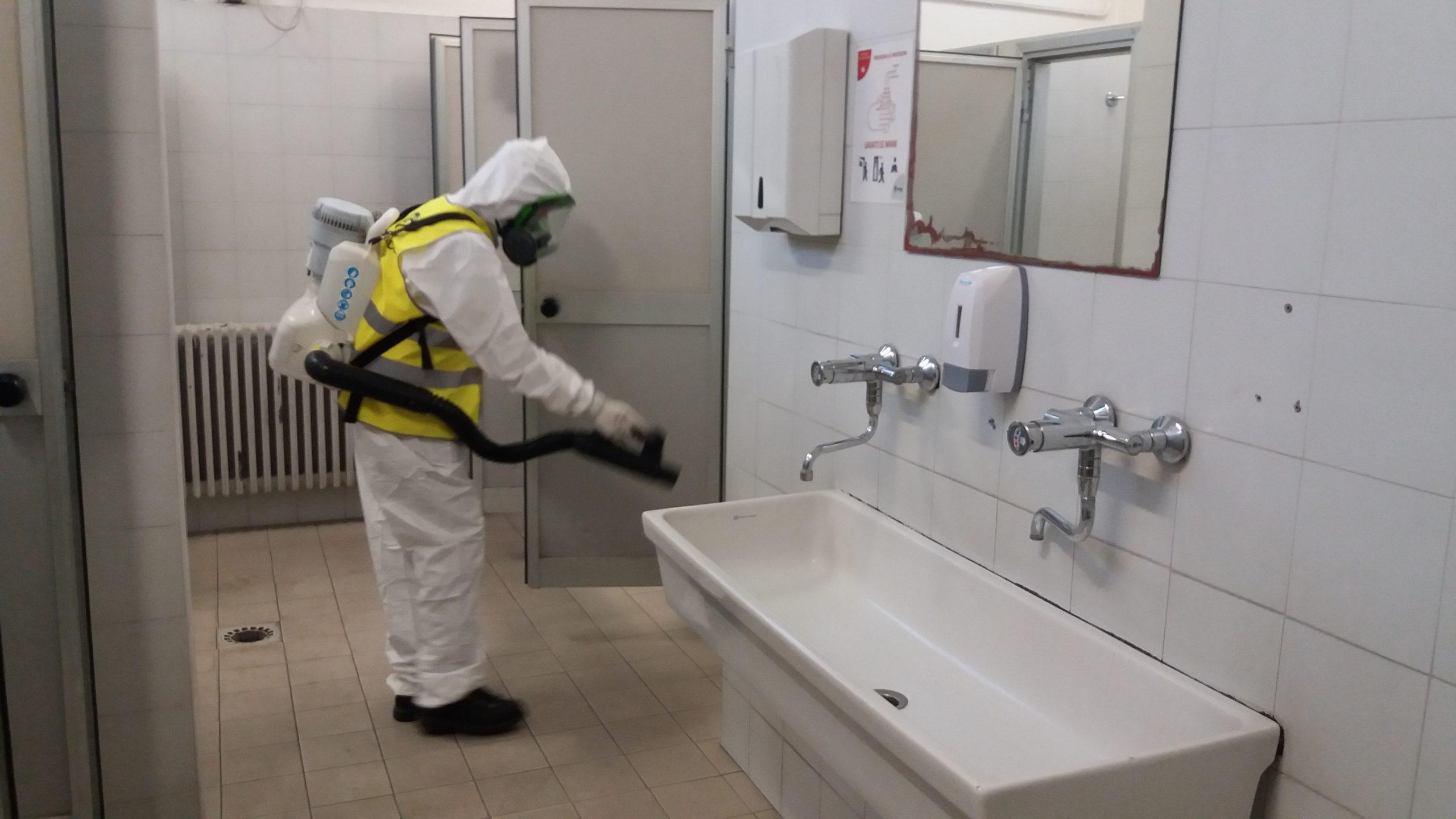 sanificazione ambienti da Coronavirus Covid19