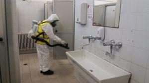 Disinfezione antimicrobica